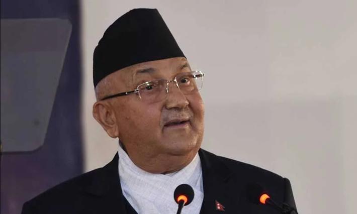 प्रधानमन्त्री ओलीद्वारा नेपाली स्थायी नियोग निरीक्षण