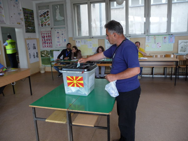 म्यासेडोनियामा मतदान शुरु