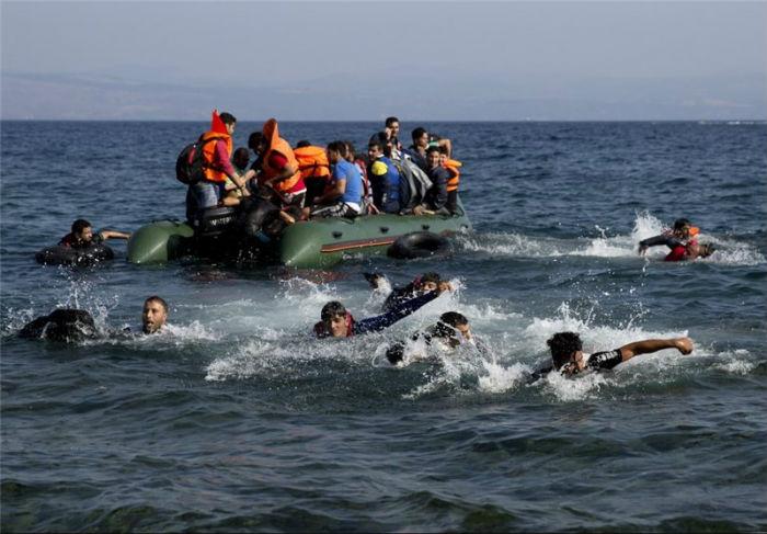 भूमध्यसागरमा ४५ जना आप्रवासी डुबेकाे आशंका